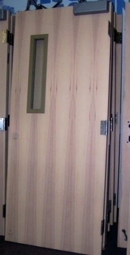Commercial fire rated interior doors with closer in - Commercial interior doors with window ...