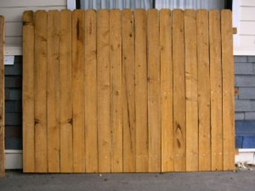 Cedar Fence Panel In American Canyon Ca 94503