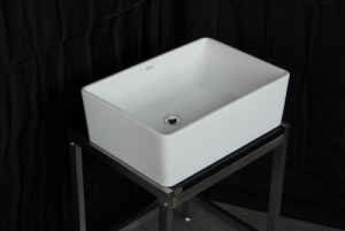 Deep Porcelain Bathroom Square Sink In Chicago Il 60290